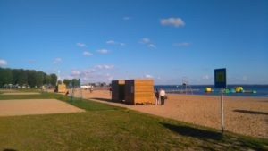 plaża miejska Giżycko
